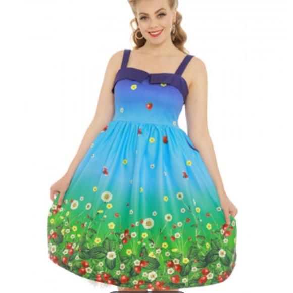 5d5f2fcc9de0 Lindy Bop Dresses   Rockabilly Vintage Inspired Swing Dress   Poshmark